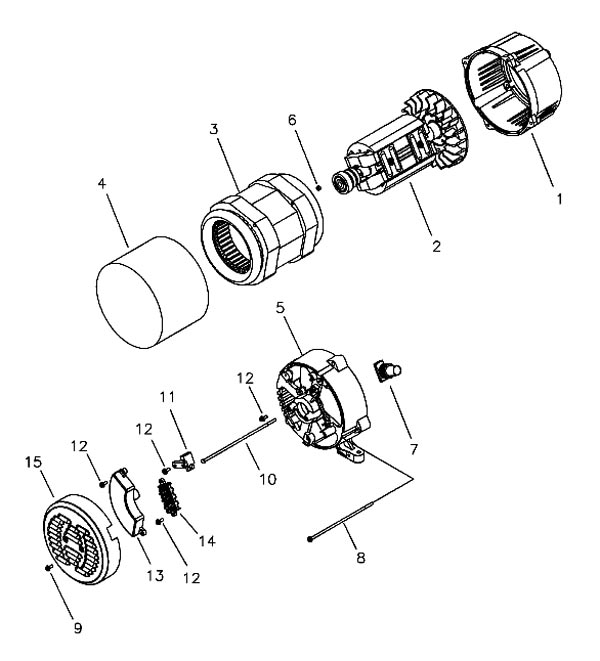030436-0 3 - Husky Parts schematic