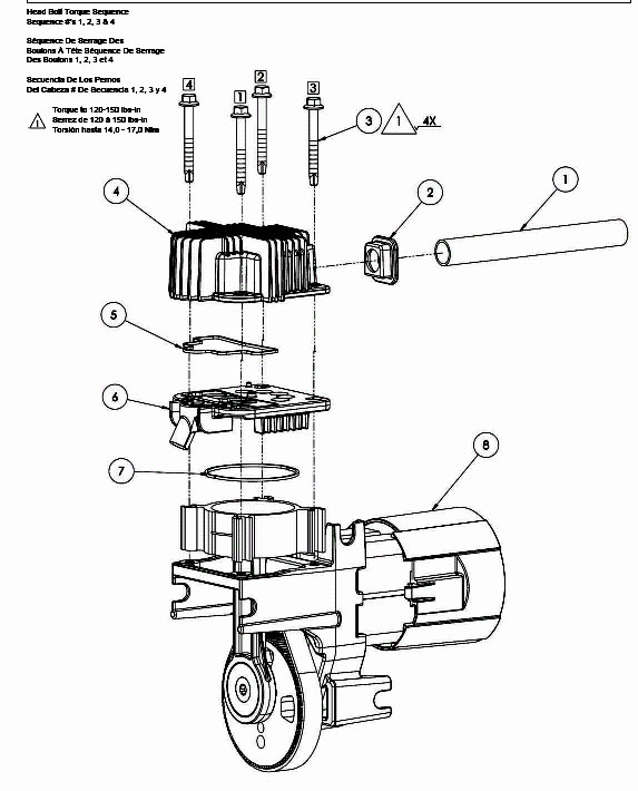 040-0377 - Oil-Free Direct-Drive Pump Parts schematic