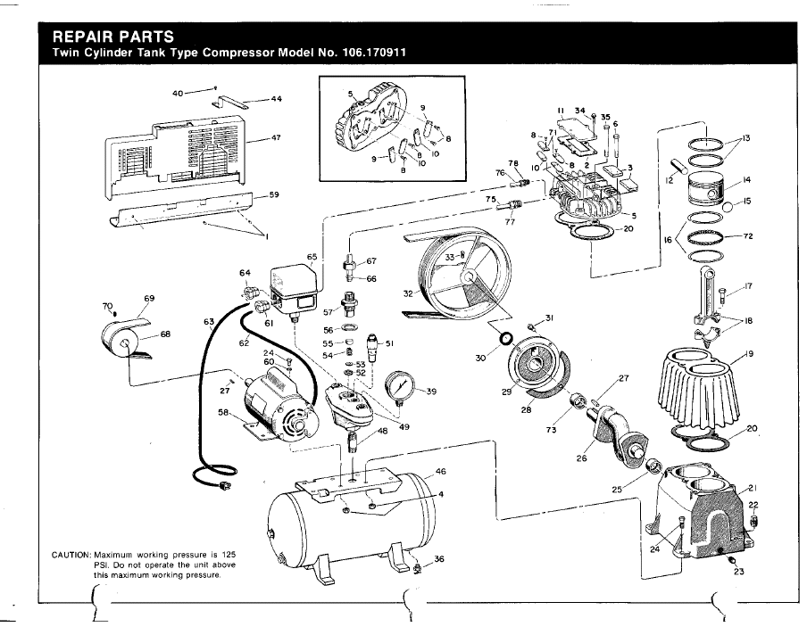 jobsmart air compressor parts diagram  diagram  auto
