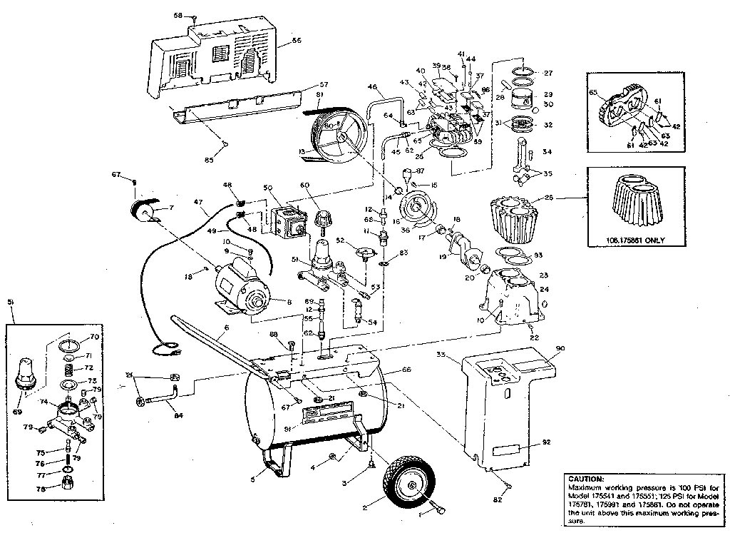 Sears craftsman air compressor parts 106175541 106175551 106175781 106175881 106175 air compressor parts schematic cheapraybanclubmaster Image collections