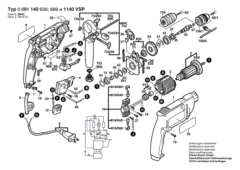 bosch hammer drill wiring diagram   33 wiring diagram images
