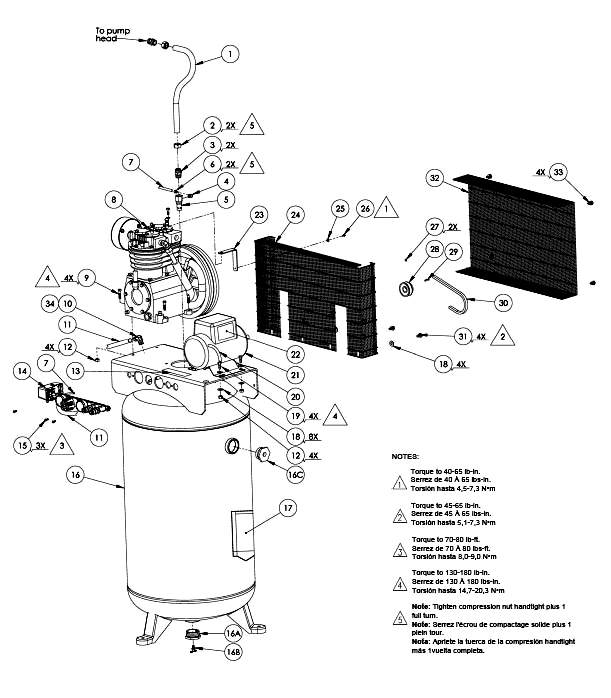 KV5248069, 138416 - Air Compressor Parts schematic