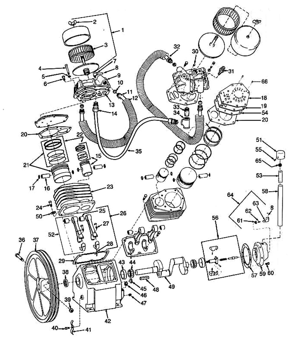 3Z493A_pump speedaire 3z493a air compressor motor diagram at eliteediting.co