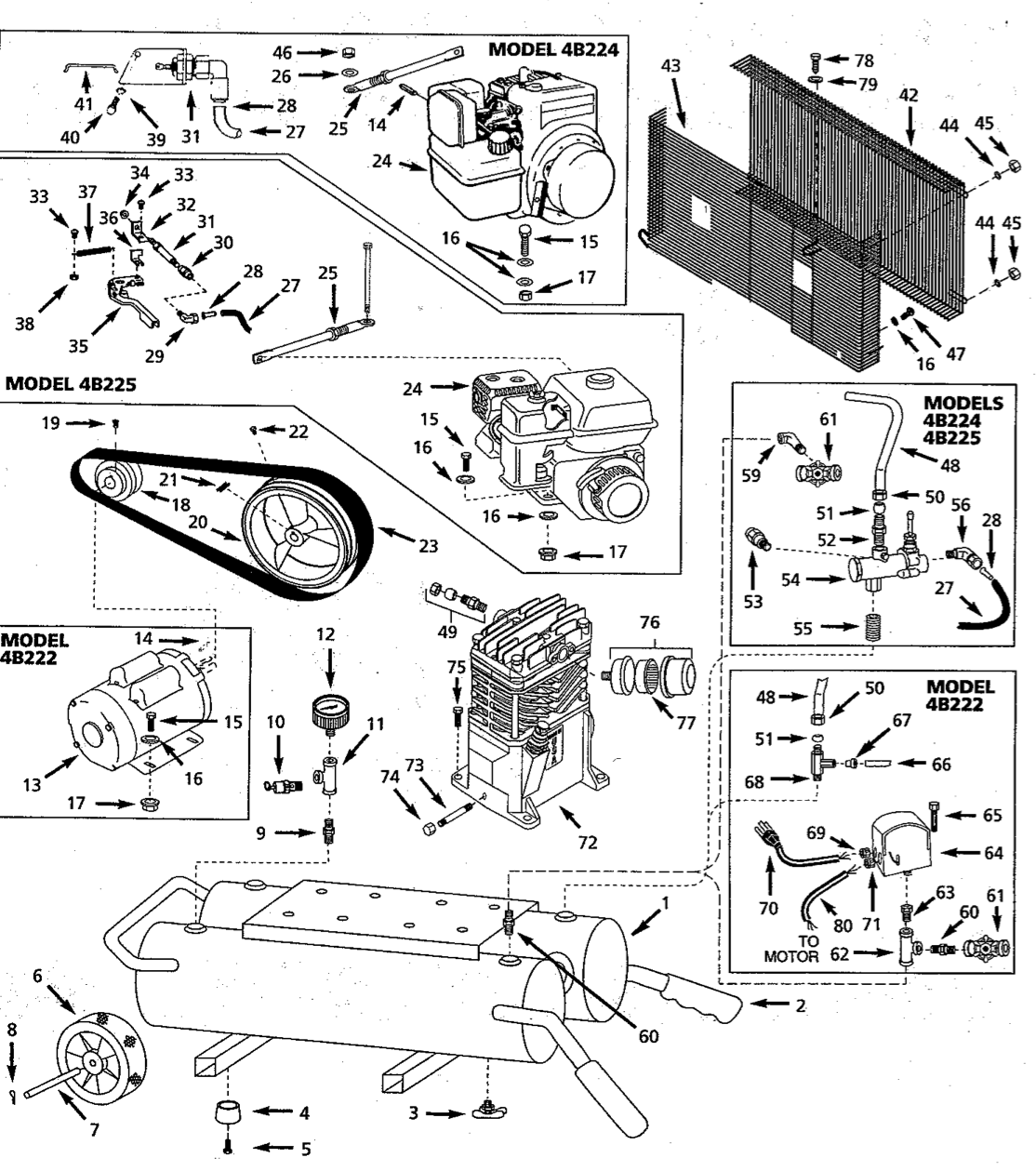 4B224_schematic speedaire 4b225 parts master tool repair powered aire wiring diagram at fashall.co