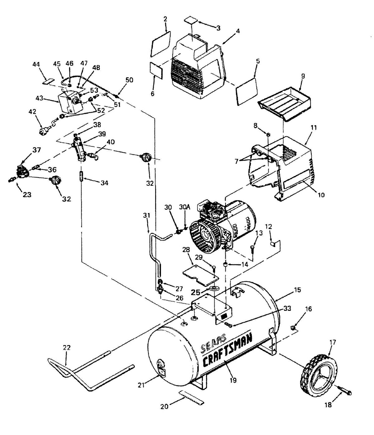 919.155730, 919.155732 - Air Compressor Parts schematic