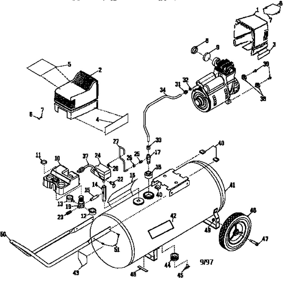 919.165300_air_compressor_parts sears craftsman 919 165300 air compressor parts sears 1 hp air compressor wiring diagram at crackthecode.co