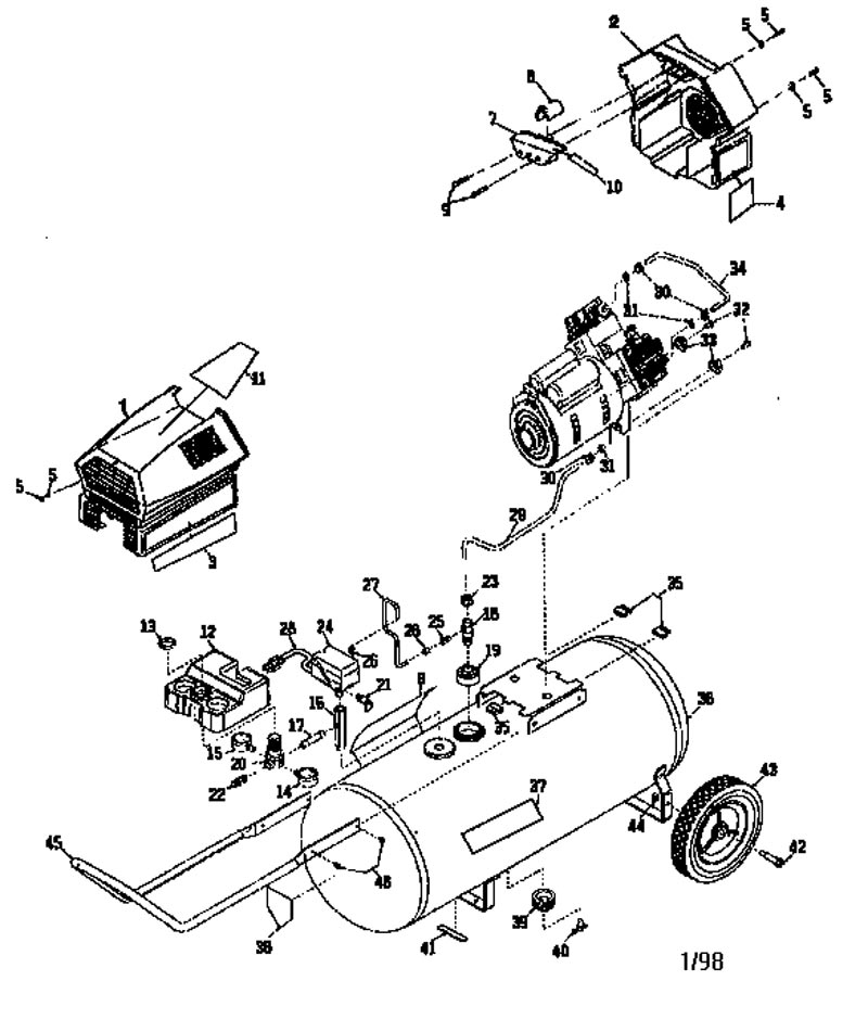 919.165330 - Air Compressor Parts schematic