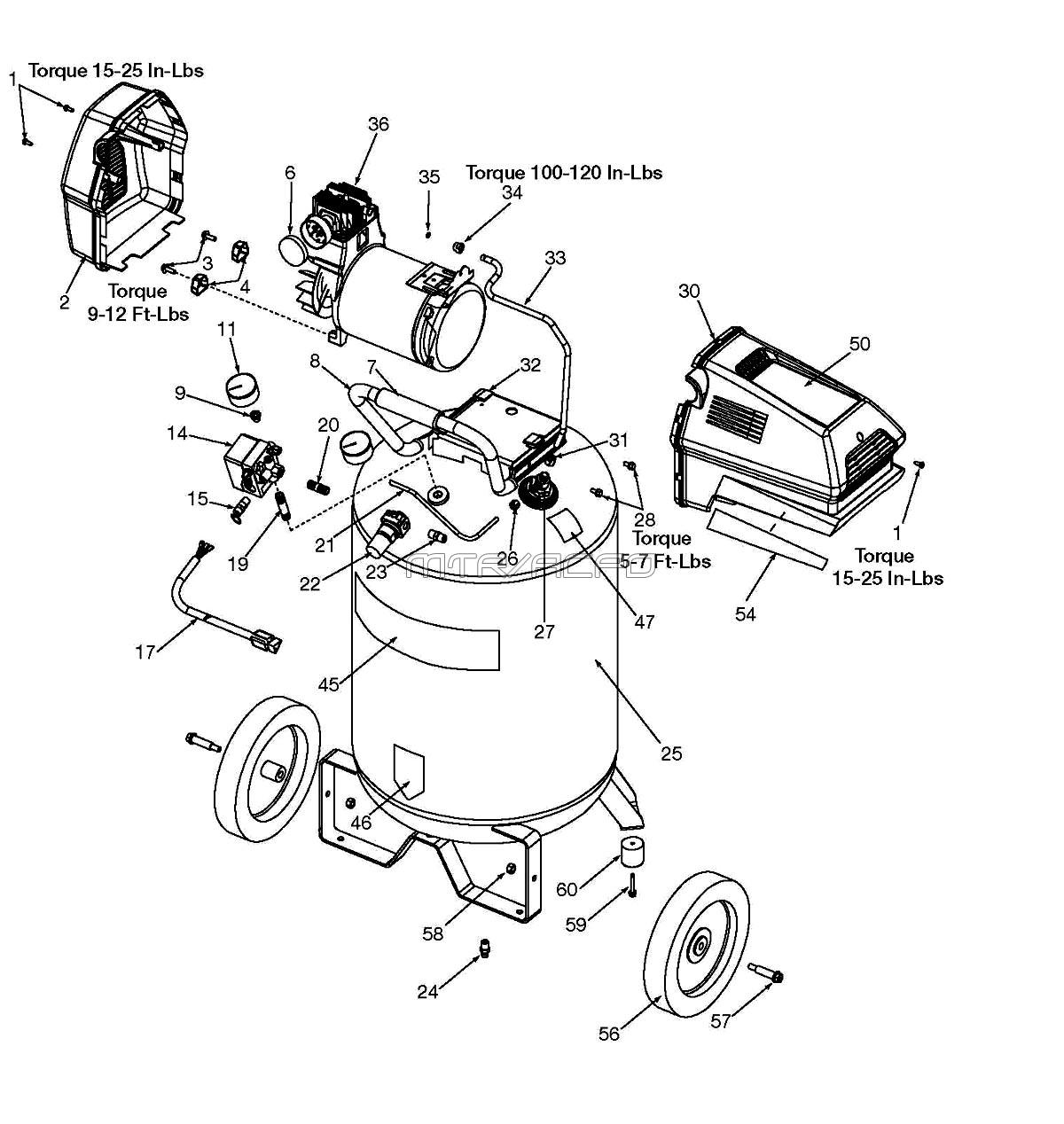 919.167320 - Air Compressor Parts schematic