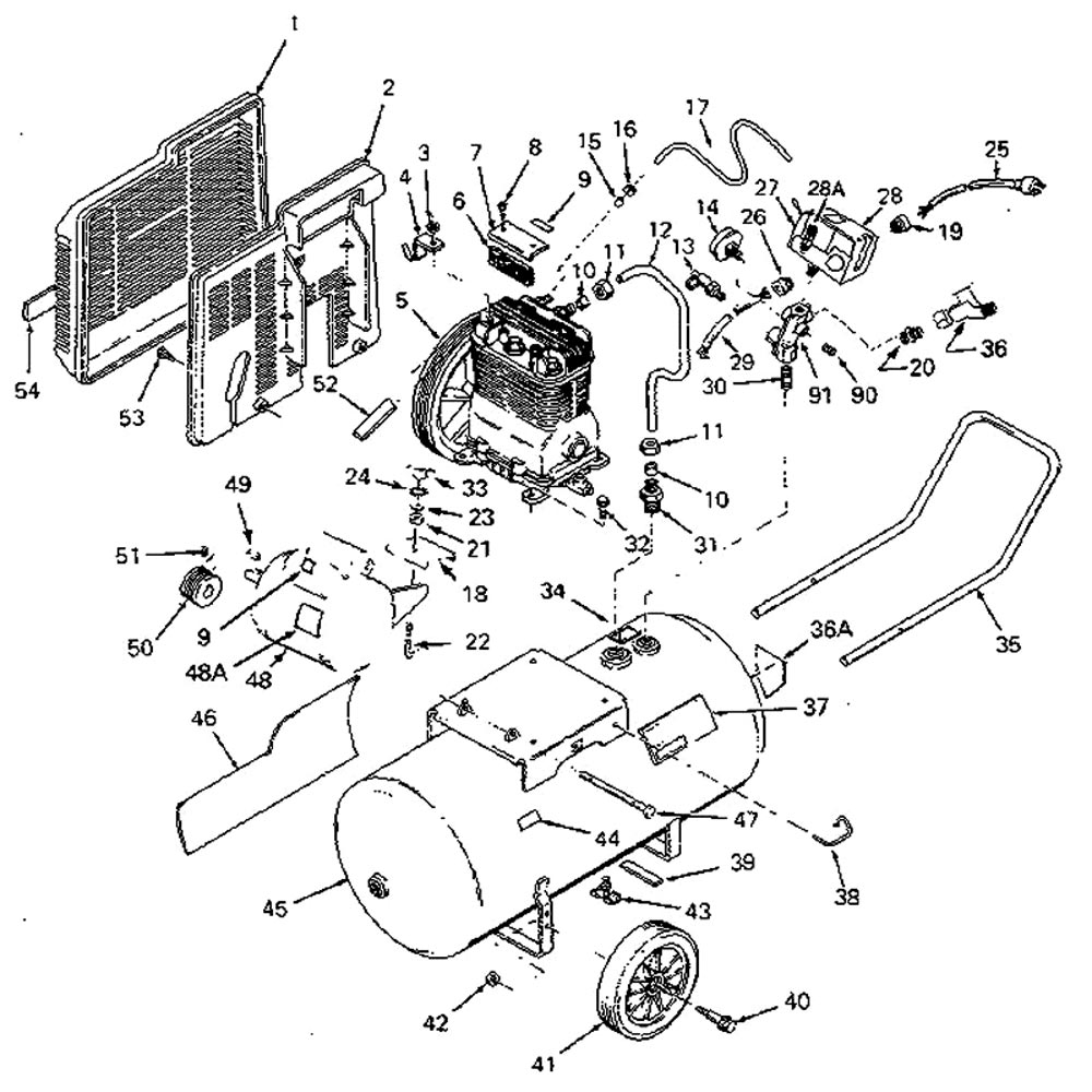 919.176450 - Air Compressor Parts schematic