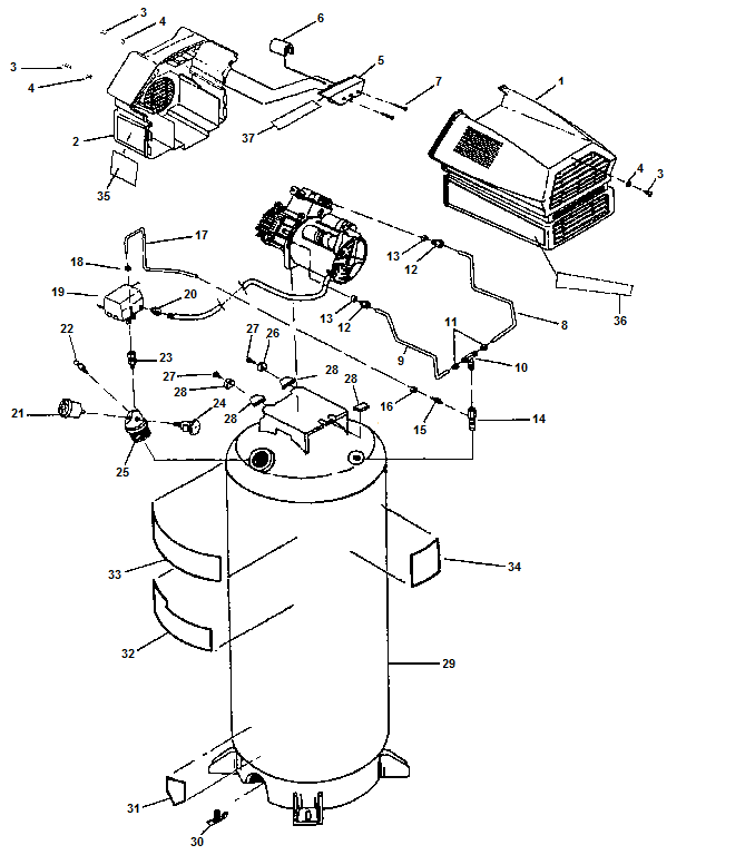 Wiring Diagram For Craftsman Air Compressor Free Download Oasis Dl Co