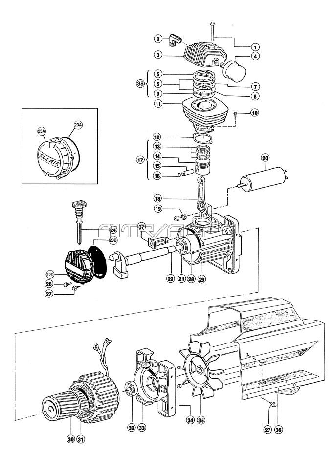 Air Compressor Pump Parts