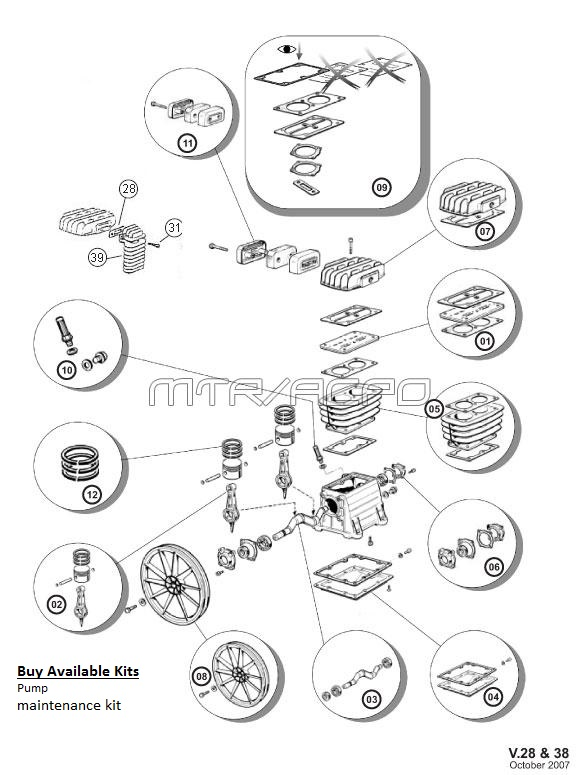 B3800_parts_edit belaire 5026vp 5020p parts master tool repair abac air compressor wiring diagram at webbmarketing.co