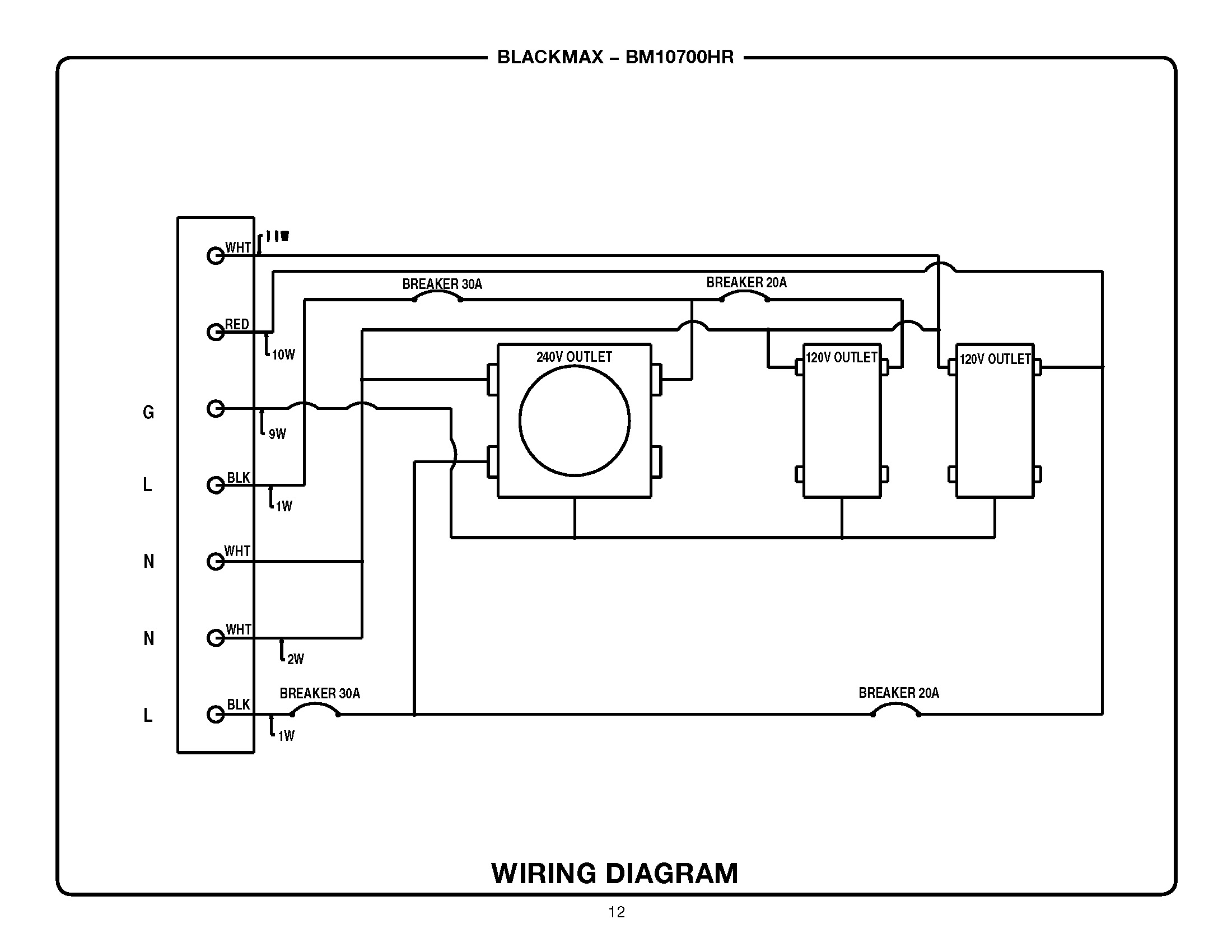 Chicago Electric Generators Repair Manual Product User Guide Wiring Diagram For Winch Portable Philips 50pf7321d 37 Parts Odicis Generator