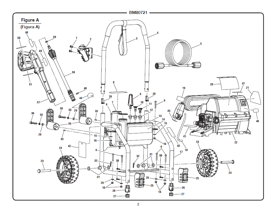electric pressure washer wiring diagram with Black Max Parts Bm80721 P 570099 on RepairGuideContent also Air  pressor Parts 112a300 30 P 76827 likewise Kenmore 80 Series Dryer Wiring Schematic likewise The Proprietary Painless Solution Is Nice Because It Utilizes The Factory Sensor In The Head It Uses Off The Electric Hot likewise 1361889 Vacuum Line R R On 1988 F150 302 5 0l.