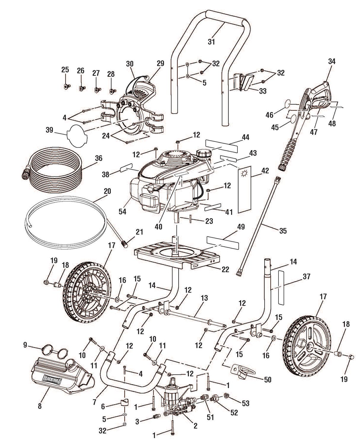 Coleman Black Max Air Compressor Manualcoleman Motor Wiring Diagram And Parts List For Aircompressorparts Powermate Catalog Manual