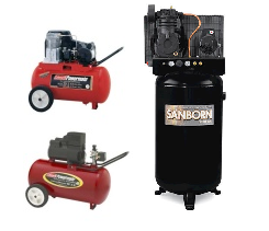 All Coleman, Sanborn Compressor Parts