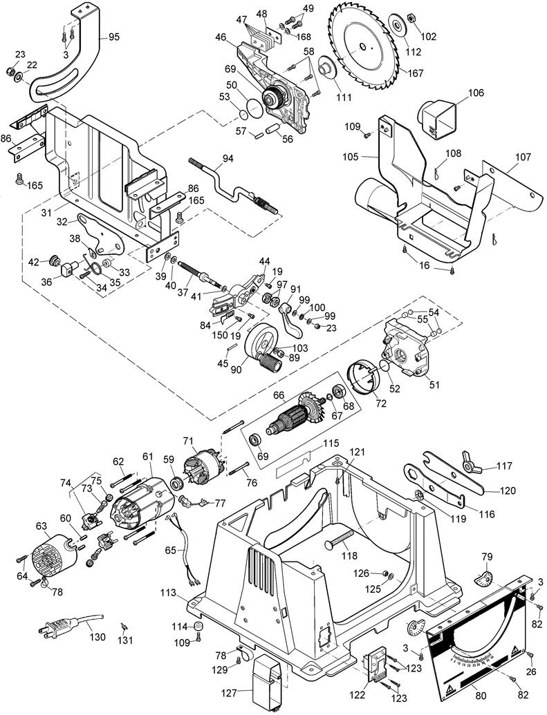 dw744 table saw wiring diagram