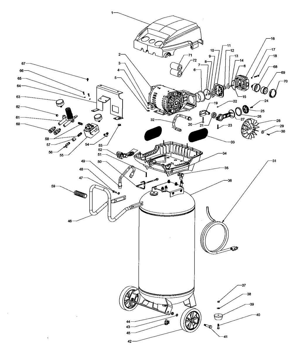 F2S26VWDVP, 671049 - Air Compressor Parts schematic