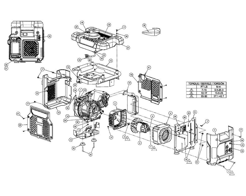 honda eu3000is parts diagram
