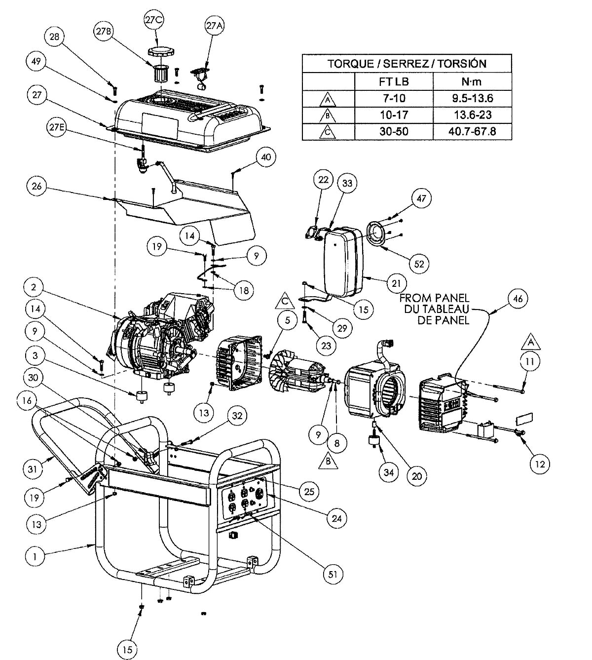HG3510_parts hg3510 homelite generator parts Craftsman Riding Mower Wiring Diagram at fashall.co