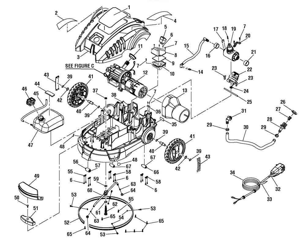 Engine besides Noma Snowblower Parts Diagram Wiring Diagrams also Kubota T1760 Parts Diagram also Black Max Parts Bm80721 P 570099 as well Electrical Schematic Kohler  mand. on husky wiring diagram