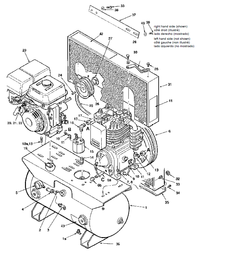 29 quincy air compressor parts diagram