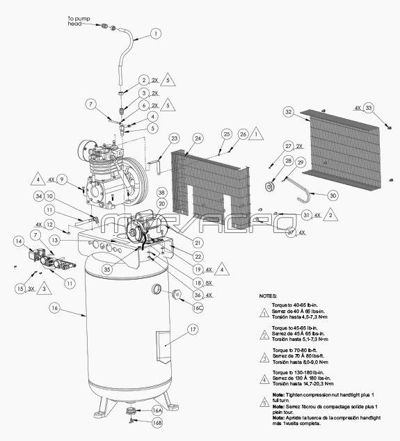 LV5248069, 222050 - Air Compressor Parts schematic