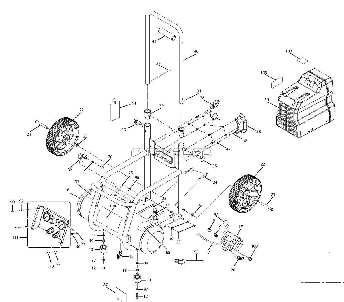air compressor motor wiring diagram