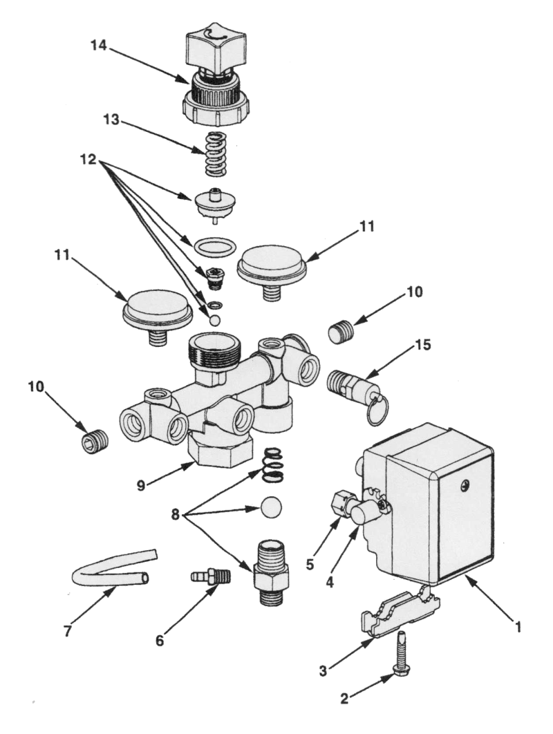 P0302013, P3001113, P0502013, P0502513 - Air Compressor Parts schematic