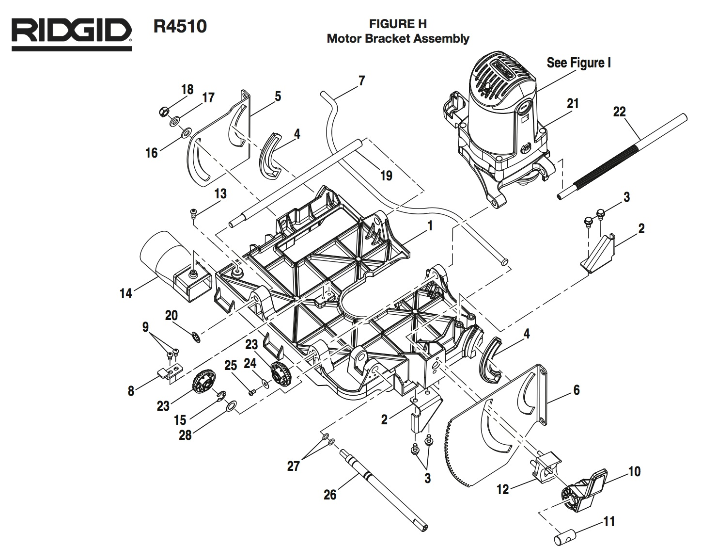 ridgid table saw r4510 wiring diagram