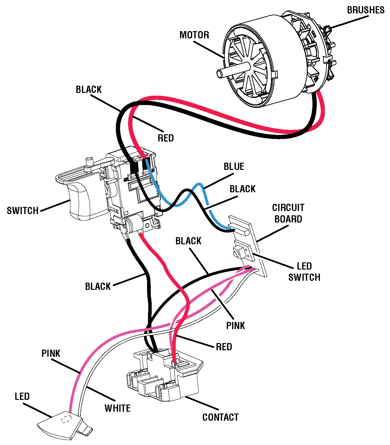 Wiring Diagram Wiring Diagram. Hammer Drill Parts