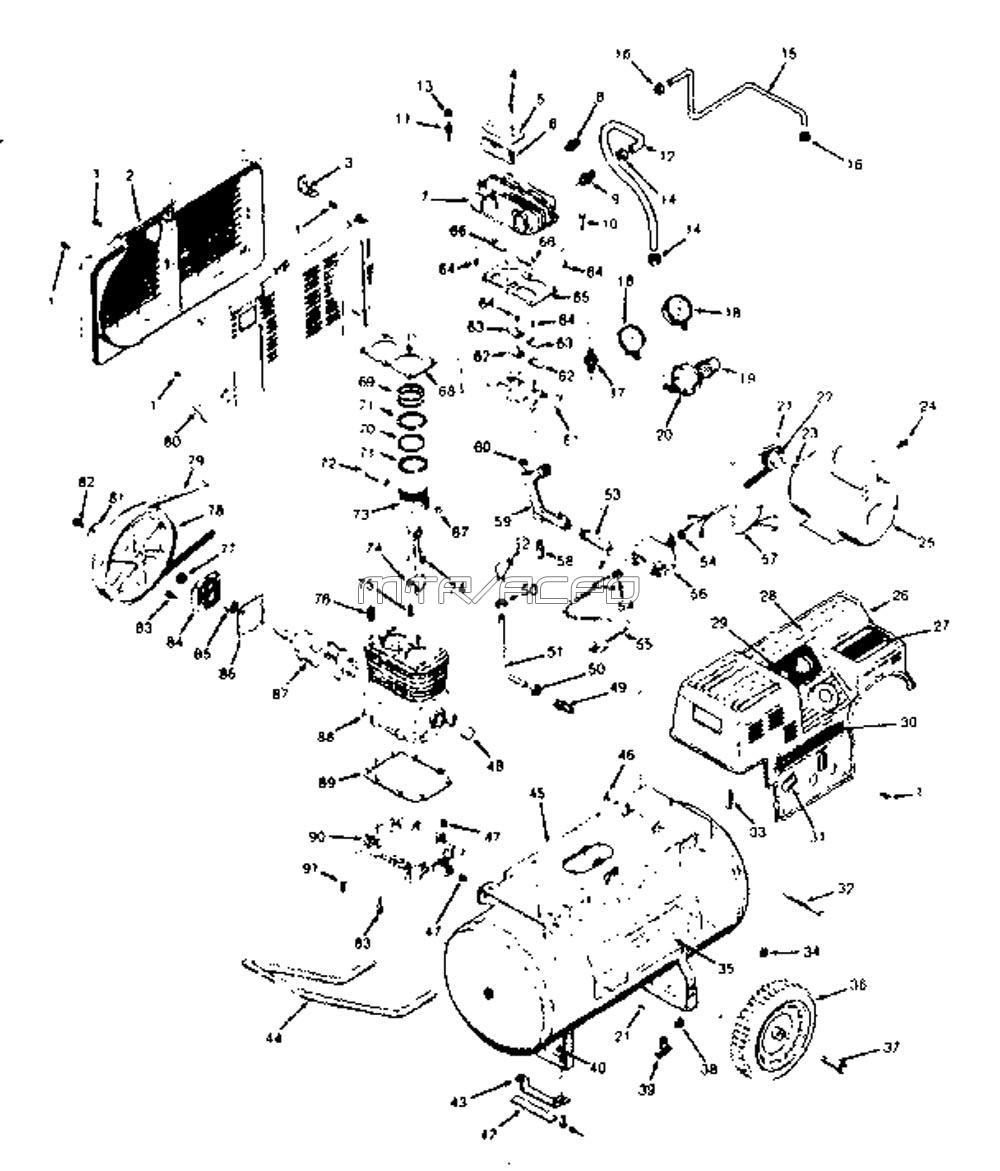 919.158221 - Air Compressor Parts schematic