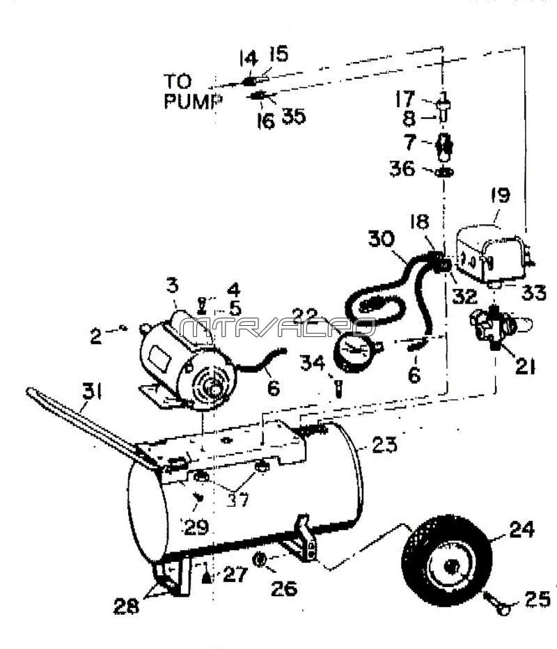 Speedaire Compressor Service Manual