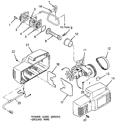 Devilbiss Air  pressor likewise Husky Air  pressor Pump Replacement as well Marathon Electric Motor Replacement Parts further Craftsman 33 Gallon Air  pressor Belt besides Air Filter For Ingersoll Rand  pressor. on wiring diagram for husky compressor