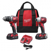2691-22 - M18 Cordless LITHIUM-ION 2-Tool Combo Kit