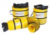 "TX-SAC-N-GO-12-C - 12"" x 30' ELECTRICALLY CONDUCTIVE DUCTING w ATTACHED STORAGE SACK"