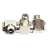 "1/4"" MPT Double Swivel Fitting"