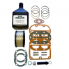 K17REPKIT/BLNDSYN - Rolair K17 Pump Rebuild Kit (Rings, Valves, Gaskets, Filter, Oil)