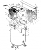 51-A21, 51-AT21, B51-A21-80V-SWC - Stationary Two-Stage Electric Air Compressor Parts