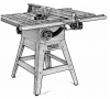 TS24120 - Table Saw Parts