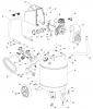 VLP1081018 - Portable Oil-Free Electric Air Compressor Parts
