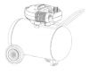 VP0551509, P0551509 - Portable Oil-Free Air Compressor Parts