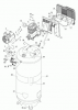 919.184170 - Stationary Single-Stage Electric Air Compressor Parts