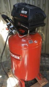 Craftsman 919 167312 Portable Oil Free Electric Air