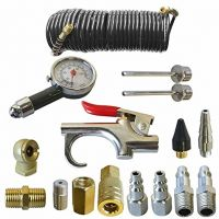 C16K - 16 Pc. Air Tool Accessory Kit w/ Hose