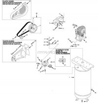 Air Compressor Parts - VT627505, VT631403, VT631404AJ, VT635900, VT6359