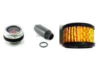 E100Kit - Filter Element, Fill Cap and Site Glass Kit