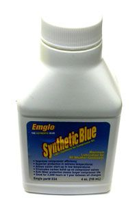 105-1208 - OIL PUMP SYNTHETIC BLUE 4 OZ BOTTLE ES4