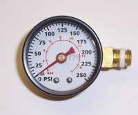 - Side Mounted Air Pressure Gauges