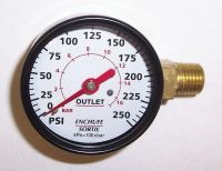 GA016705AV - Pressure Gauge, Right Mount